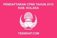 Pendaftaran CPNS Kabupaten Kolaka Tahun 2019