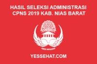 Hasil Seleksi Administrasi CPNS Kabupaten Nias Barat Tahun 2019
