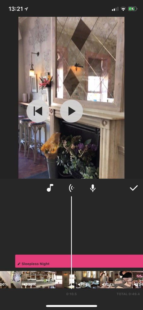 InShot screenshot | vertical video editing apps | Yes Starling