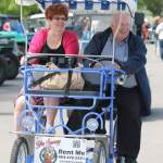 Elderly on a Surrey Bike
