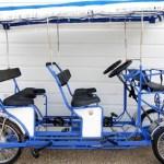 4 Wheel Pedal Quadricycle Surrey Bikes double bench six person Surrey Bike