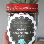 Valentine S Day Gift Succulent Labels And Tags Yesterday On Tuesday