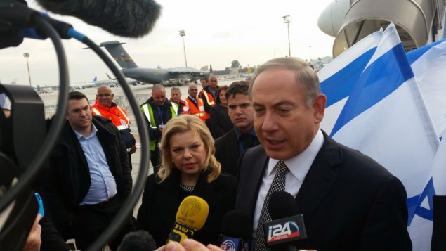 Embarking on rare visit to Muslim countries, Netanyahu vaunts Israel's popularity