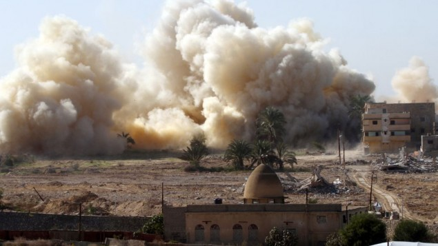IS in Sinai: Israel conducted multiple airstrikes against us