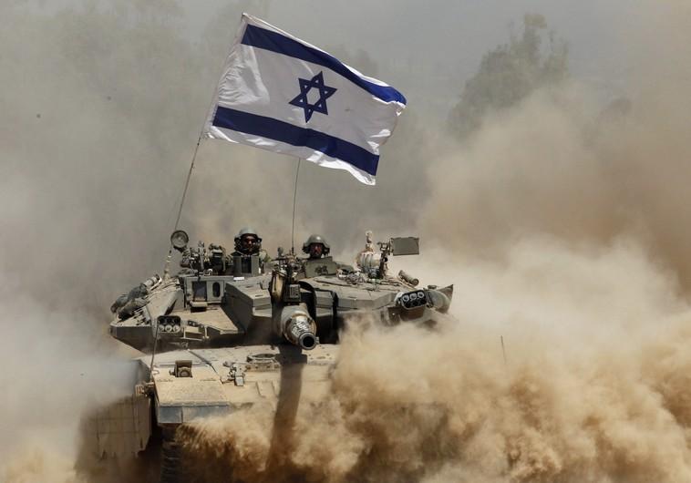 IDF tanks fire at Hamas targets in response to Gaza border shooting