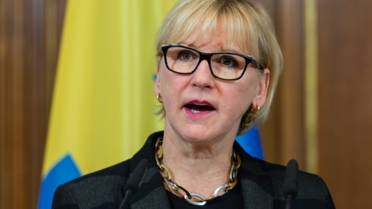 Sweden plans to advance UN resolution condemning Israeli settlements, FM says