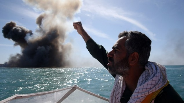 Iran begins Strait of Hormuz navy drill amid tensions with US