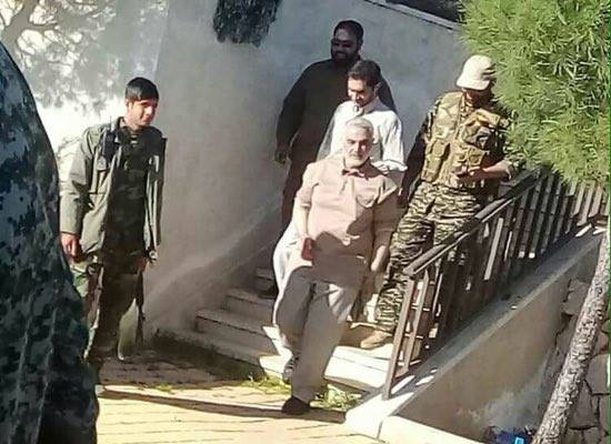 Reports that famous Iranian Major General has arrived on the Hama front