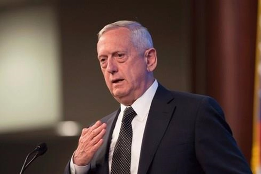 US airstrikes target Iranian-backed troops in Syria- Jim Mattis