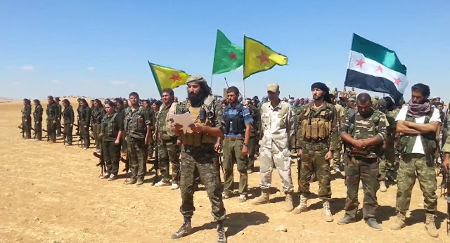 "Fierce Clashes Between Syrian Army and the so-called ""Syrian Democratic Forces"""