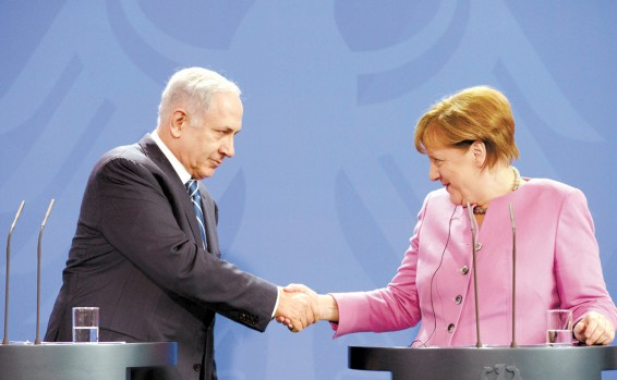 Before Netanyahu's visit to Germany: Tensions with Merkel's party