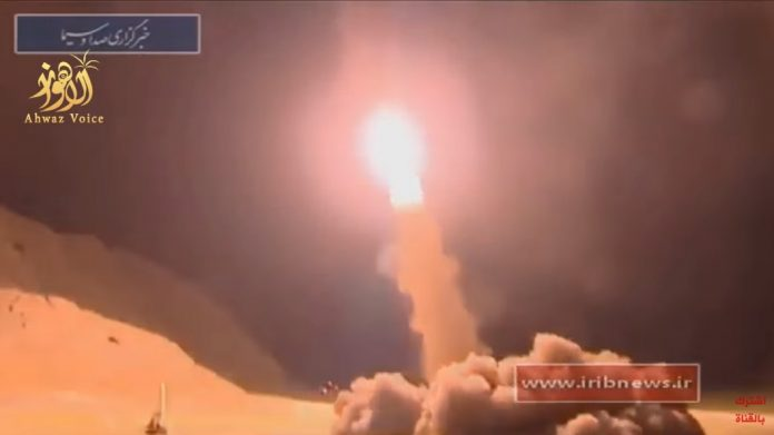 Most Iranian Ballistic Missiles Failed to Reach Intended Target in Syria