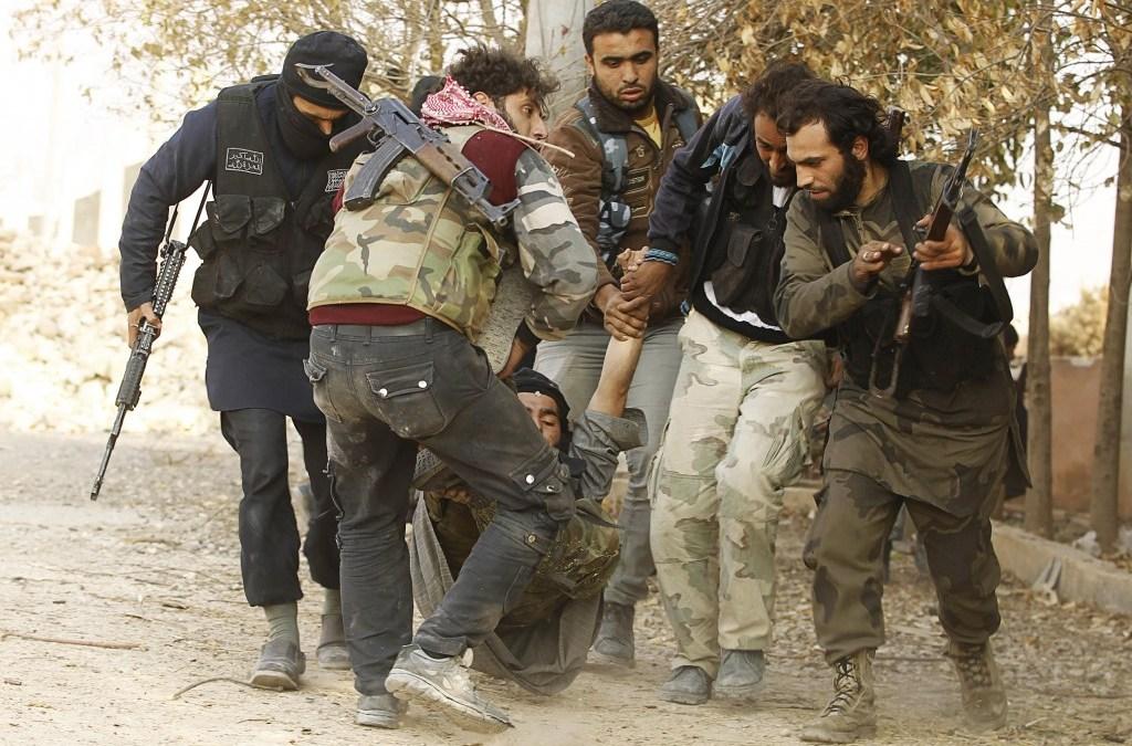 Why Israel is saving Syrian rebels
