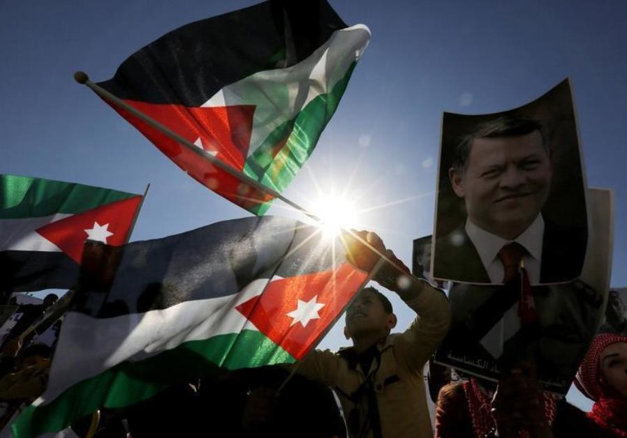 JORDAN'S ANTI-ISRAEL RHETORIC ON THE RISE