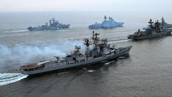 Russia increased number of warships in Mediterranean Sea