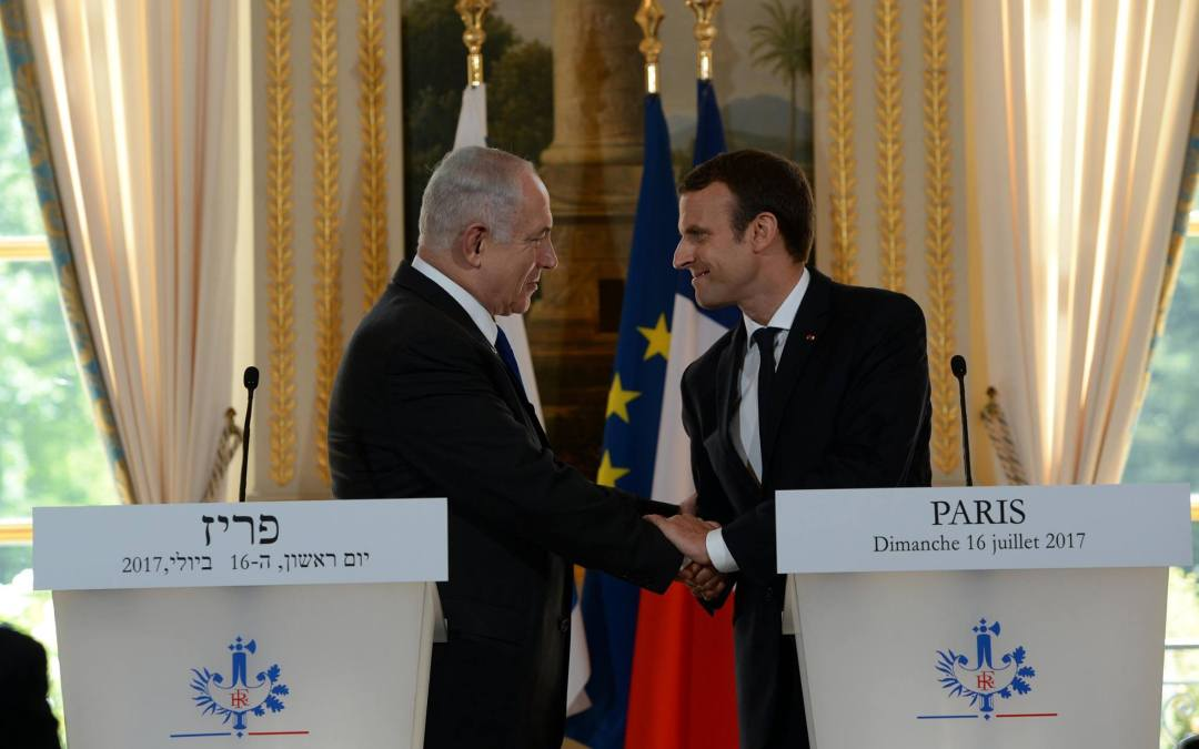 Netanyahu in France: Israel cannot allow the establishment of the Iran's military and its proxies in Syria