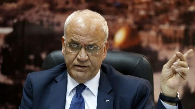 Palestinian negotiator says US silence fostering 'apartheid'