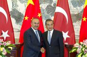 TURKEY AND CHINA PLEDGE SECURITY COOPERATION AS TIES WARM