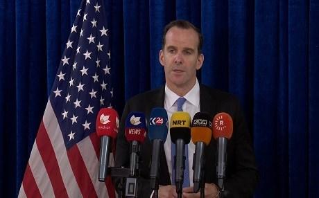 McGurk: Entire international coalition can't support 'ill-advised' Kurdish referendum