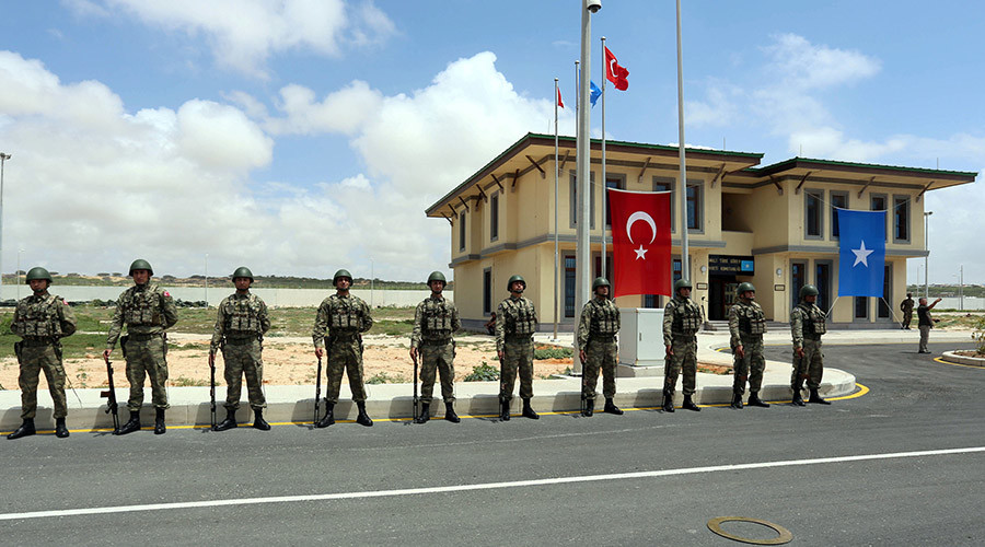 Turkey opens its largest overseas military base in Africa