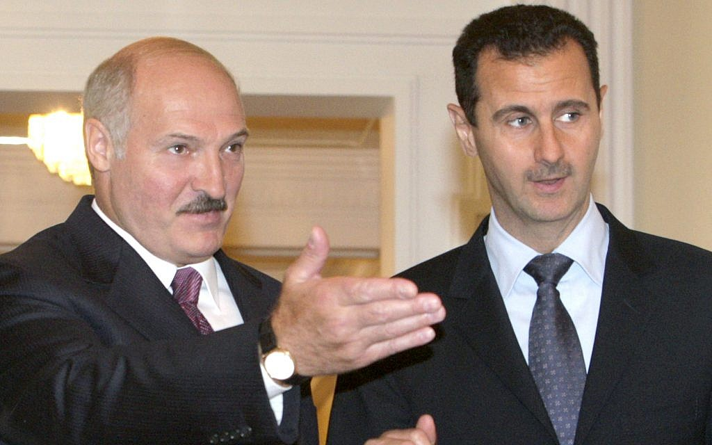 Under the radar, Belarus seen quietly helping Assad boost missile program