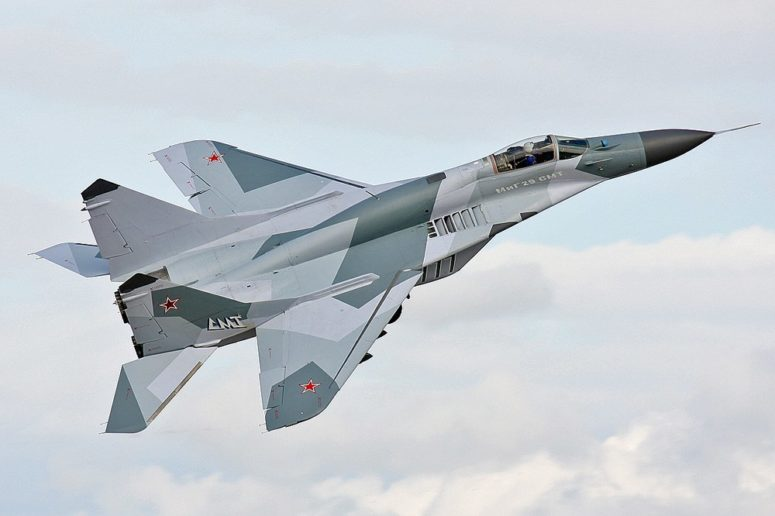 Russia deploys MIG-29smt fighter jet to Syria for the first time