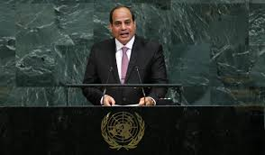 Egypt's Sisi urges Palestinians to unite, co-exist with Israelis