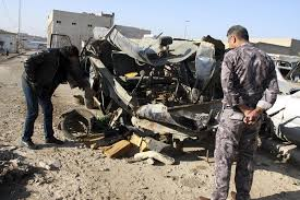 Two ISIS suicide attacks in Iraq leave at least 74 dead