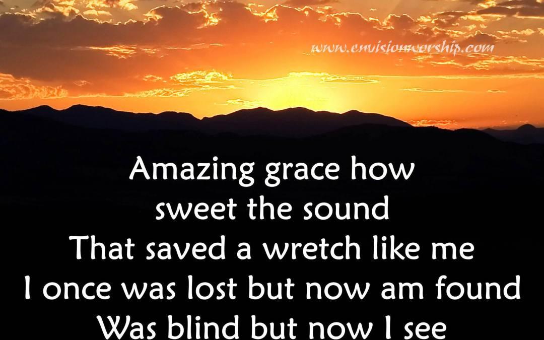 Needed Grace