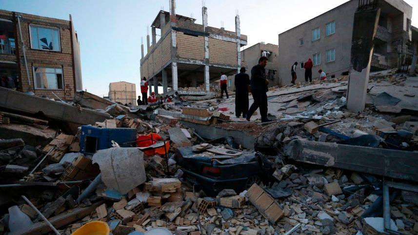 At Least 445 Killed After 7.3 Earthquake Strikes Iran-Iraq Border; Shocks Felt in Israel