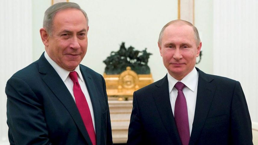 Netanyahu to Trump and Putin: Israel Will Continue Military Action in Syria