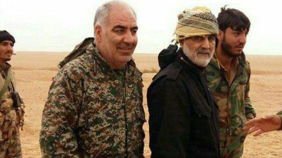 Iran's Gen. Soleimani takes personal command of Abu Kamal battle. His deputy killed