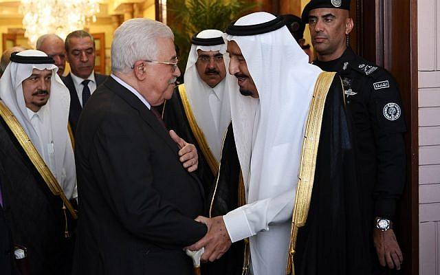 Senior PA official denies Saudis gave Abbas ultimatum on US peace plan