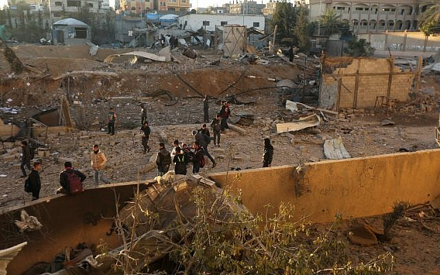 After missiles fired from Gaza, IDF hits Hamas positions