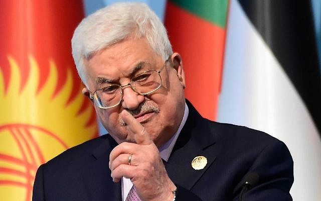 Israel's leaders atypically quiet after Abbas asserts their state is invalid
