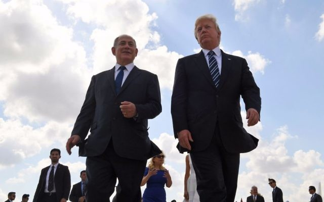 Netanyahu and aides were 'active partners' with Trump team on Jerusalem move