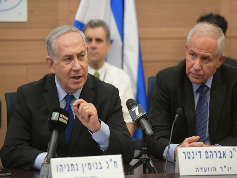 PM Netanyahu addresses the Knesset Foreign Affairs and Defense Committee