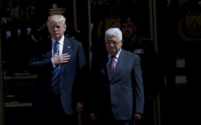 Abbas says Trump's Jerusalem decision ends historic US role as peace broker