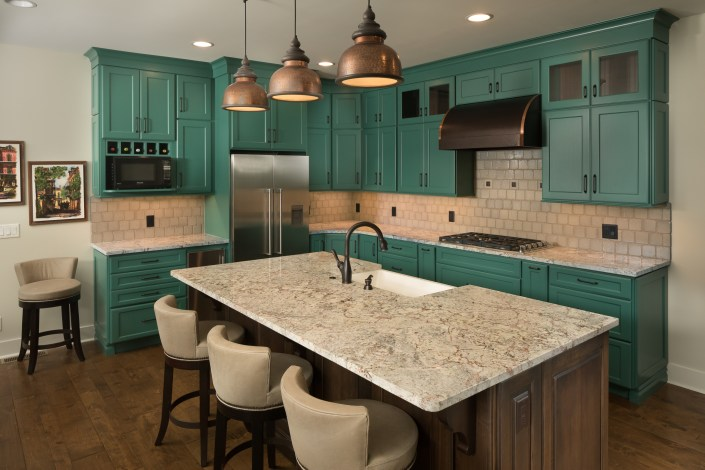 Asheville-Interior-Design-Kitchens-green-cabinets