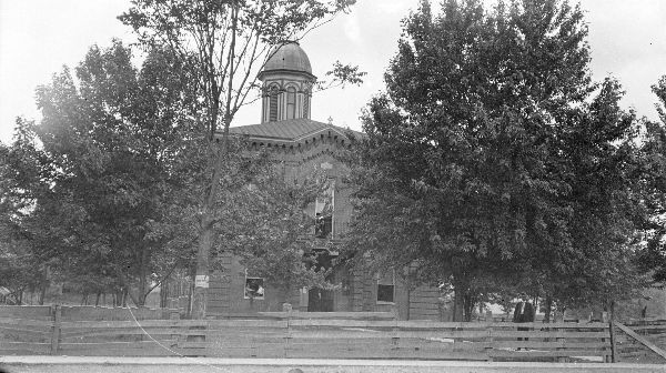 Manchester Courthouse - Clay County, Kentucky