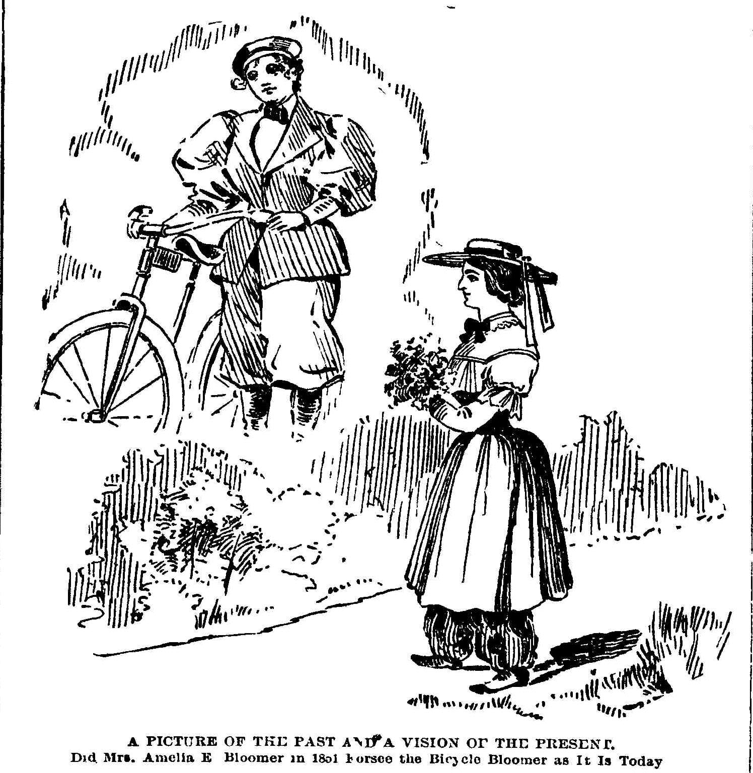 Images About Bicycles And Bloomers