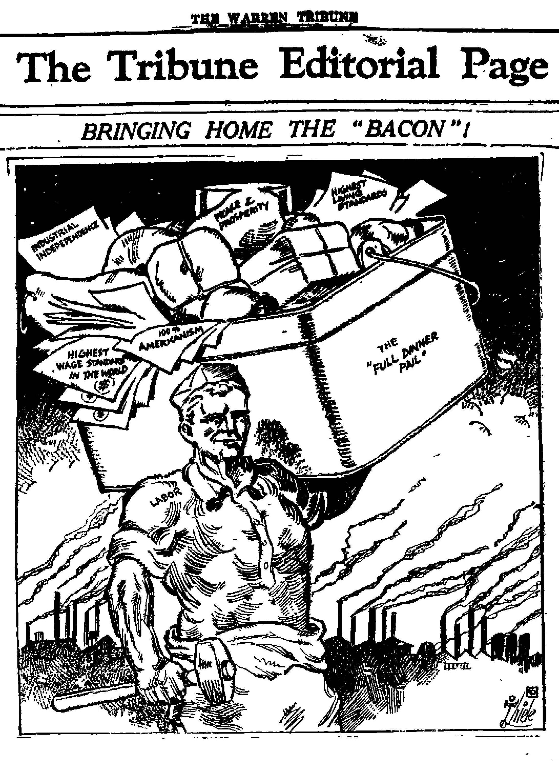 Warren Tribune, PA 1927