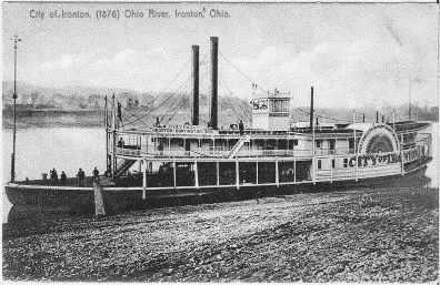 City of Ironton (steamer) (Image from www.riverboatdaves.com)
