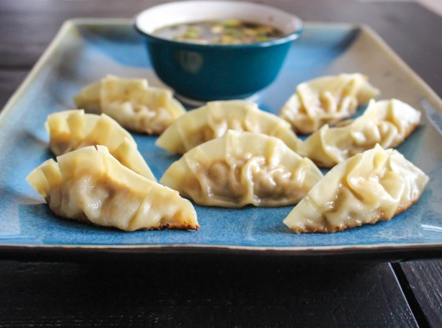 Pork & Apple Pot Stickers | Yes to Yolks