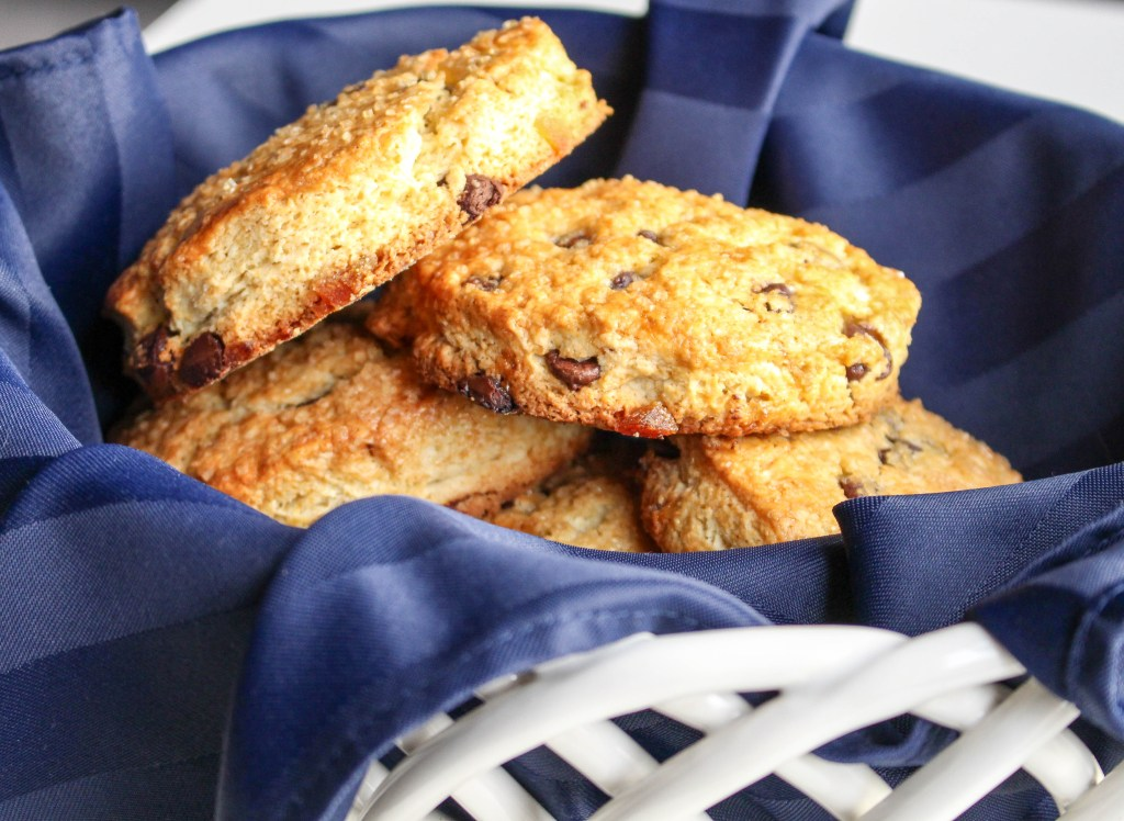 Dark Chocolate & Ginger Scones with Sweet Cinnamon Butter | Yes to Yolks