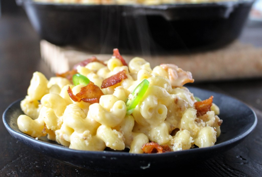Jalapeño-Bacon Mac & Cheddar | Yes to Yolks