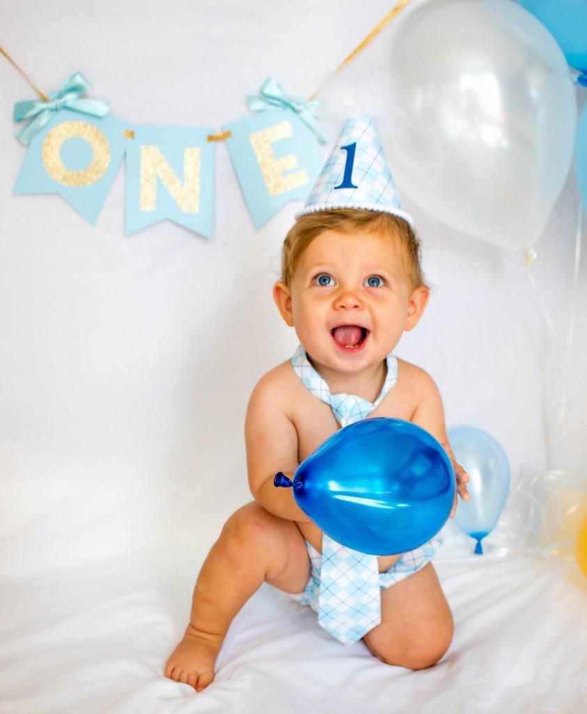 Kieran - !st Birthday