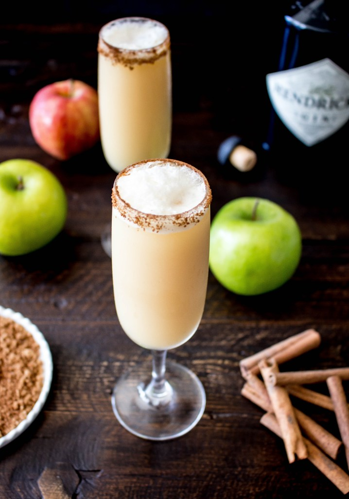 Apple Cider Gin Fizz | yestoyolks.com
