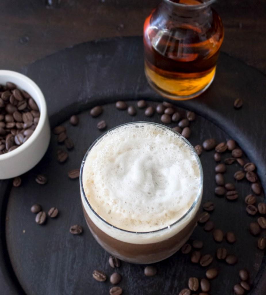 Espresso Bourbon Fizz | yestoyolks.com