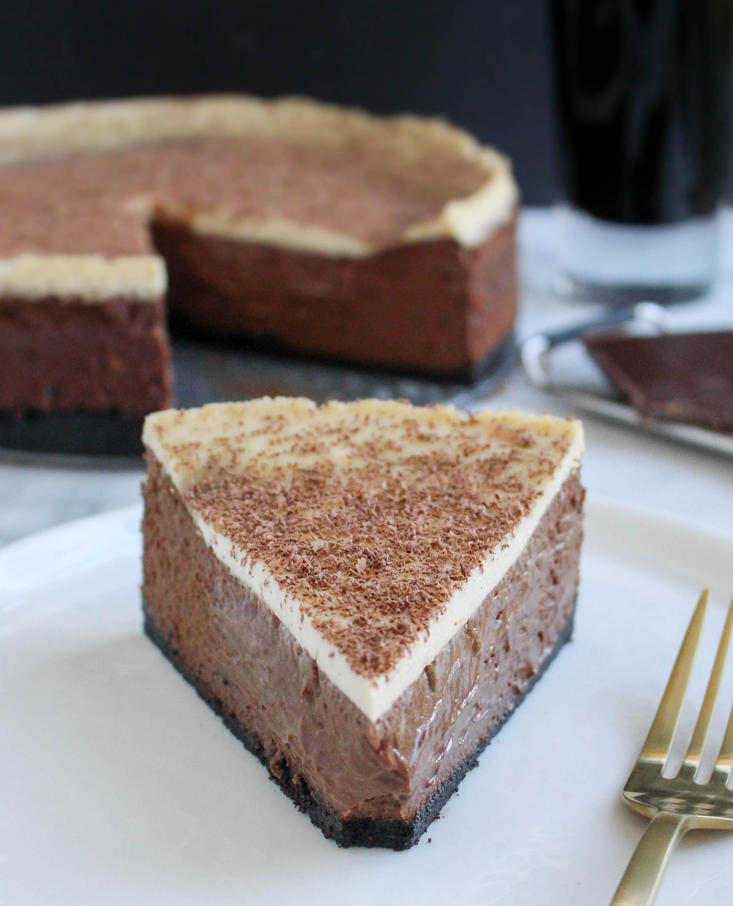 Irish Carbomb Chocolate Cheesecake